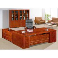 Executive Desk, Solid Executive Desk, Natural Wood Executive Desk, High Quality Desk