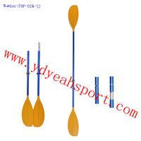 Carlisle Day Tripper Aluminum Kayak Paddle - 2 Piece For Canoe Kayak