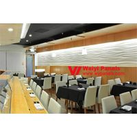 3D Wall Panels- MDF Wave Boards WY-105