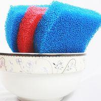 Brand antibacterial silicone dish sponge washing brush scrubber household cleansing heating pad spon thumbnail image