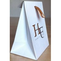 white card paper bag