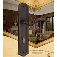 solid brass door handle lock