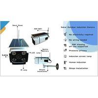 Solar induction camera/HD/wifi/night vision