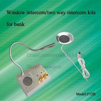 Two way intercom kits for ticket station