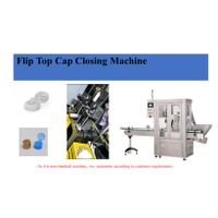 Flip Top Cap Closing Machine thumbnail image