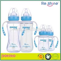POTATO cute design plastic feeding bottle for baby