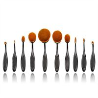 2016 New Developed High-quality Professional 10pcs Makeup Brushes Cosmetic Set
