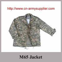 Field Woodland Camouflage Combat M65 Jacket