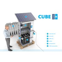 AQUA CUBE for water treatment
