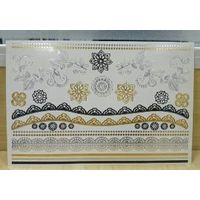 High Quality Lace Temporary Foil Body Tattoo Sticker