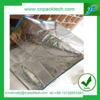 moisture radiant barrier woven fabric reflective foil shipping insulated pallet cover