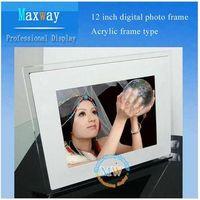 Acrylic frame 12 inch digital photo frame thumbnail image