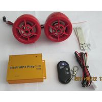 motorcycle accessory  anti-theft digital mp3 player with radio