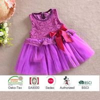Pink Chiffon Dresses for Girls, High Quality Kid Wears, Children Clothing