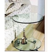 Modern and contemporary hot bend glass beside nightstand thumbnail image