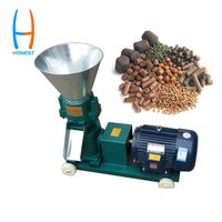 HONEST 120 Farm Use Poultry Feed Making Pellet Mill Machine thumbnail image