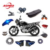 125cc Motorcycle Chain and Sprocket Set for Yamaha YBR125