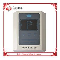 Long range RFID reader for hands-free parking system