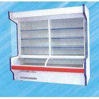 supermarket upright refrigerated display cabinet for vegetable/meat/fruit/beverage/dairy