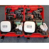 Leica GS18 T GNSS RTK Base and Rover