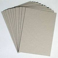 Grade AAA, AA, A High Quality Grey Paperboard in Sheet or Roll thumbnail image
