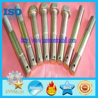 Customized Special Hex Head Bolt With Hole(as drawing),Double End Stud with hole in end thumbnail image