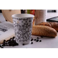 double wall insulated hot coffee paper cups