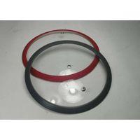 Toughened glass silica gel edge,16cm glass lid