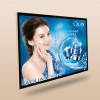 Manufactory Exhibition Adverting Indoor Wall Mounting LCD Advertising Display Slim Digital 32/42/46/