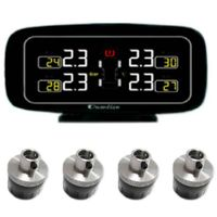 DIY TPMS with External Sensors, Easy for Installation, Weight of Sensor Less Than 12g