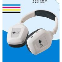 2.4GHz USB Rechargeable Wireless Headphone with Microphone