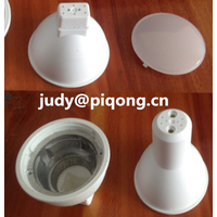 PBT with Die casting aluminum gu10 3W led spotlight housing parts