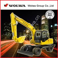 hot sale  DLS 865 5.8tons Wheeled excavator