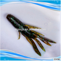 soft fishing shrimp lure 50