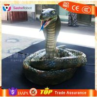 Vivid moving life-size robotic baby snakes for sale thumbnail image