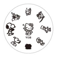 Dia 55mm Nail Art Stamping ,Stainless Steel Image Plate ,Design Template