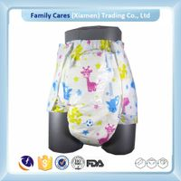 Ultra thick diaper adult,super absorption adult diaper,ABDL sexy adult baby diaper with printed