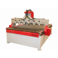 Multi-heads MDF CNC Cutting machine with HIWIN square linear guideway thumbnail image