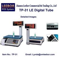 Electronic Pricing Retail Scale, Supermarket Cash Register Receipt Printing Platform Weighing Scales thumbnail image