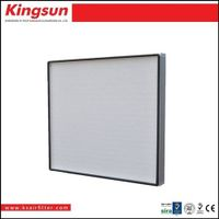 Hepa filter h13 610*610*50mm for laninar flow bench