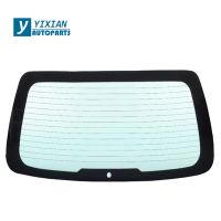 car rear windshield tempered glass with hole