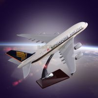 Display Aircraft Model OEM Airbus 380 Singapore Airlines Resin Engine Blade Hollow Design Manufactur thumbnail image