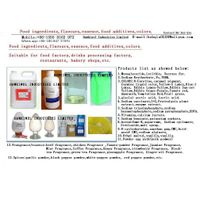 flavours/fragrance/food additives/ingredients thumbnail image