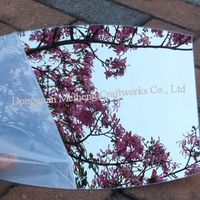 0.9x1220x1830mm Acrylic Double-Sided Adhesive Mirror Sheets