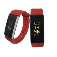 OLED Screen Smart Bracelet Blood Pressure Heart Rate Monitor Sweatproof Sports Bracelet