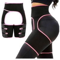 Adjustable 3 in 1 shaper waist trainer and thigh trimmer