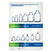 moulded vials for antibiotic