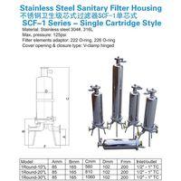 Stainless Steel Sanitary Filter Housing thumbnail image
