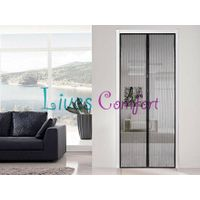 Black Magnetic Door Screen