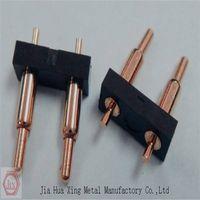 precision brass 6 pin pogo connector
